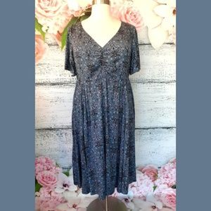 NWT Torrid Flutter Sleeve Dress Size 3 (22 - 24)